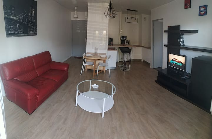 Appartement T2  40m² avec terrasse et parking