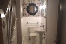 Main floor: Parlour bathroom.