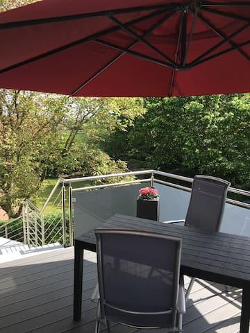 Ferienwohnung am Weserbogen