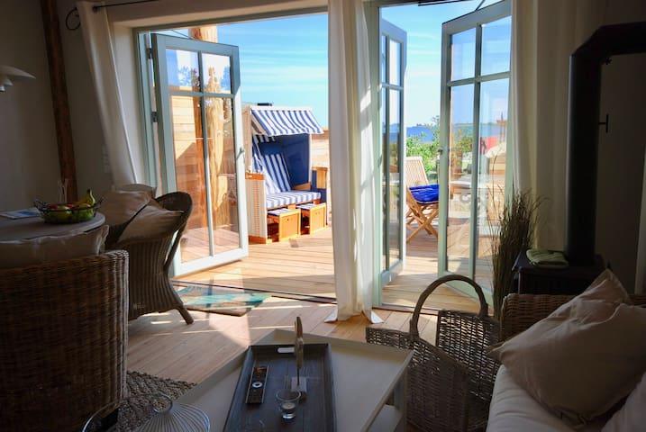 Fehmarn, Strandhaus direkt am Strand