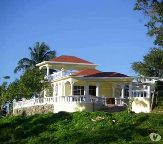 Villa surplombant la mer, plage quasi privative.. - Boca de Yuma - Chambre d'hôtes