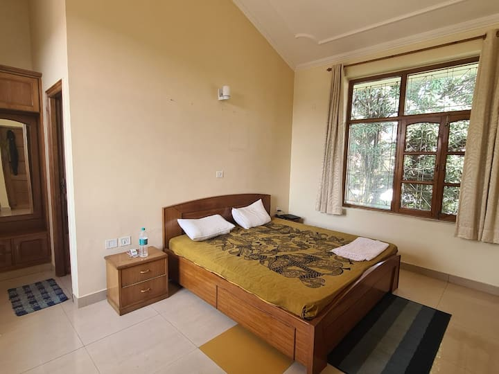 Mystic Cottages: C24: Terrace Room with Ganga View