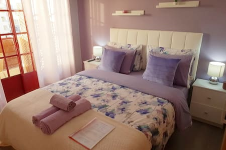 Central Lilac Suite/Balcony/AirConditioner/Netflix