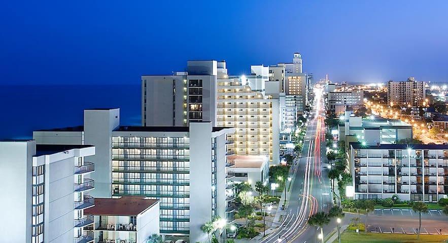 Myrtle Beach Cityscape at night