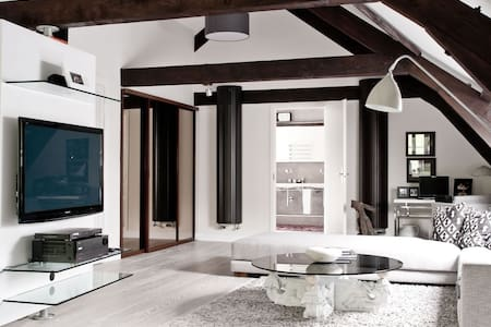 1 Big Luxus Room in Ritterhof, Dusseldorf, Messe - Tönisvorst - Haus