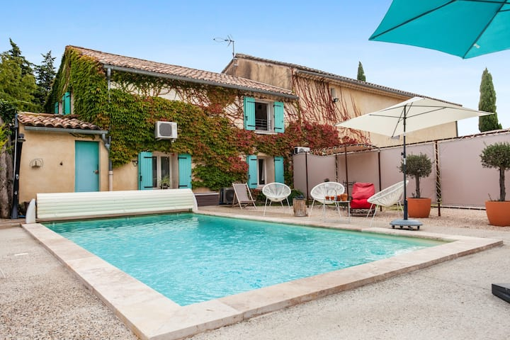 Villa with 3 bedrooms in Beaumes-de-Venise, with private pool, enclosed garden and WiFi