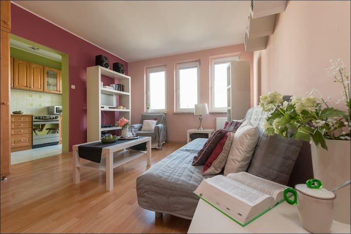 Studio Apartment BIELANY 4