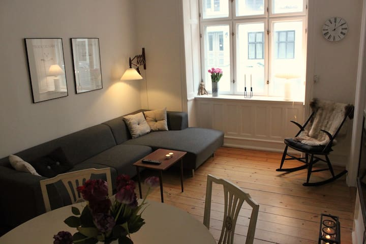 Central and cosy two-room appartment - Kopenhag - Daire