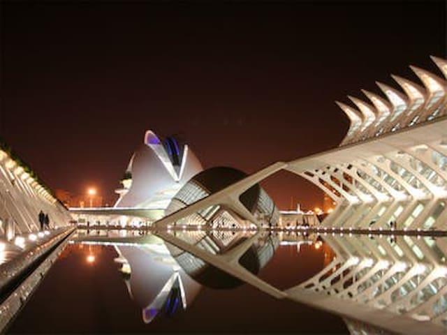 Ciutat de les Arts.