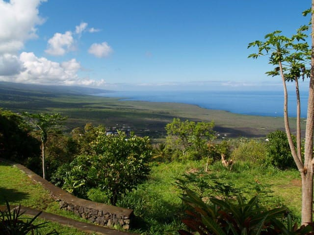 1200 feet above Kealakekua Bay, South Kona