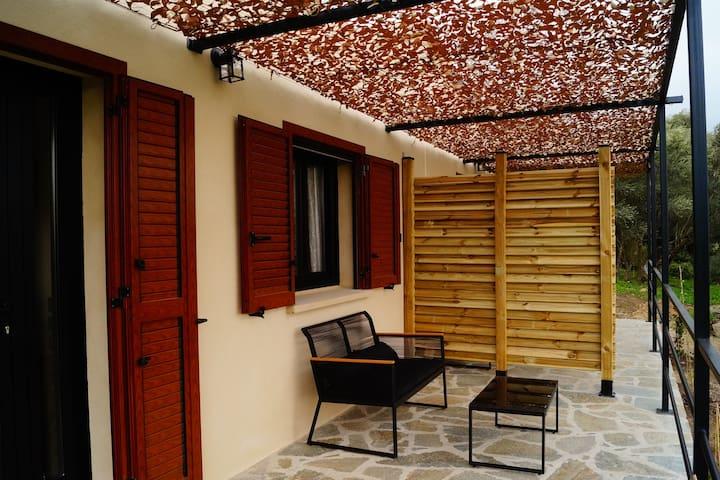 La terrasse privative