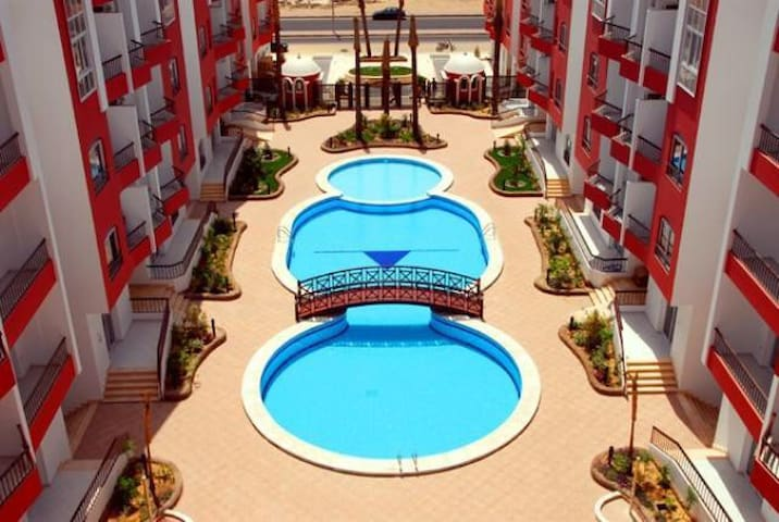 Studio in promenade golden center of Hurghada