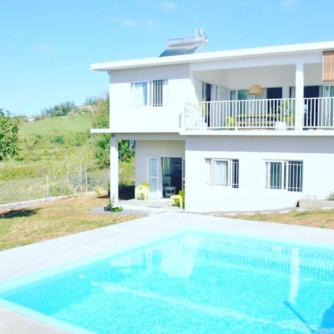 Guest House sea view Villa Zourit with Pool