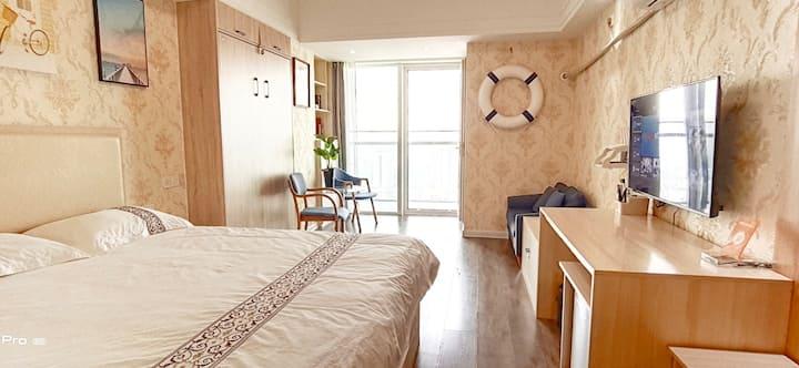 带露台|安泰国际广场日之初高层公寓