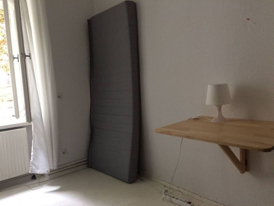 small room- empty in this image