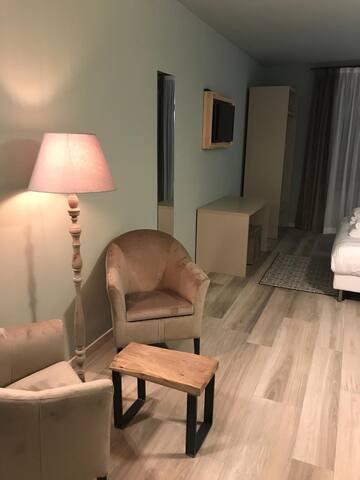 Ampia camera matrimoniale in Franciacorta
