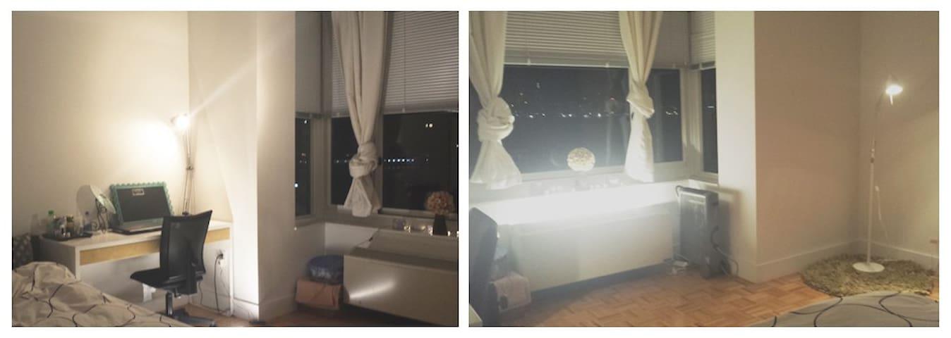 Manhattan View/Living room/10min NYC - Ciudad de Jersey - Apartamento