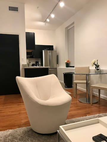 New! Stylish Studio Apartment Downtown