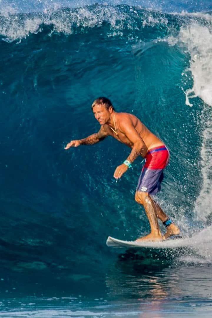 Ossian surfing