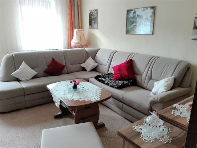 Ferienwohnung Eckoldt (Eisenberg) - LOH06596, Ferienwohnung Eckoldt, 75qm, Terrasse, 2 Schlafzimmer, max. 4 Personen