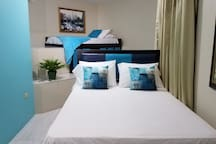 2nd Bedroom Apt can sleep up to 7  Additional QUEEN and TWIN beds