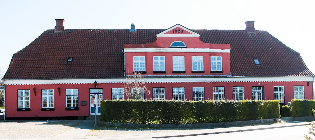 Overnatning ved Aabenraa