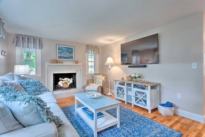 Renovated Cape Cod Home: Walk to Beach & Downtown!