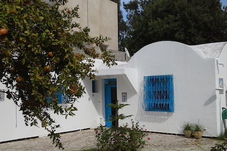 Maison traditionnelle Tunisienne - Kelibia - House