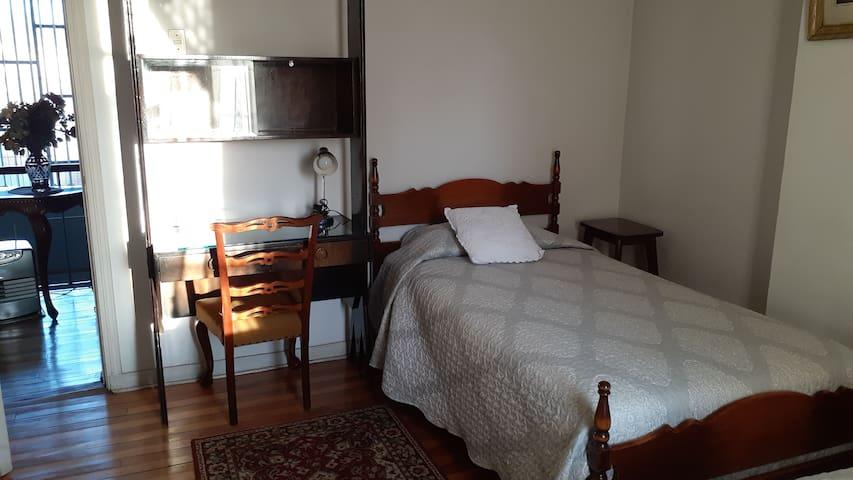 Habitación para 2 personas a pasos del Centro