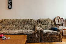 Spacious and charming living room in Brooklyn ;)