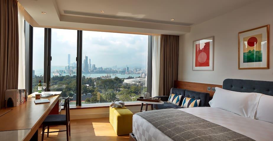 New&Full Harbor View Studio,5mins from Tin Hau MTR