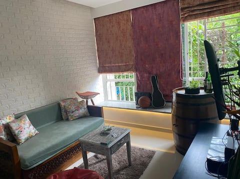 Sea-esta, 1bhk luxury  flat near Chapora river