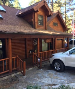 Ponderosa 3000 sq ft Custom Log Cabin - Running Springs