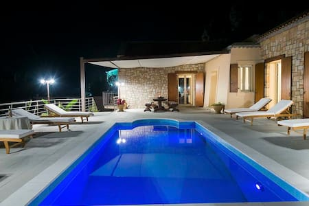 Stunning Brand New Sea View Villa - Kefallonia