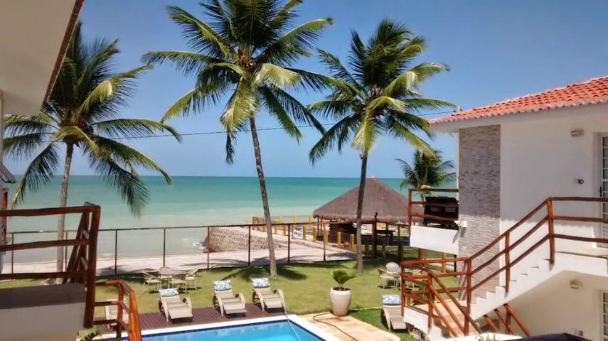 AQUA BLU - Beachfront apartment - Ilha de Itamaracá - Apartmen