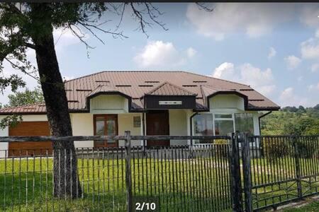 Landhaus im ruhigen Umgebung