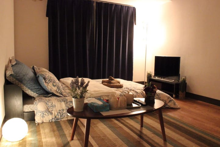 Beautiful and comfy room#Tenmabashi station 6min - Chuo Ward, Osaka - Byt
