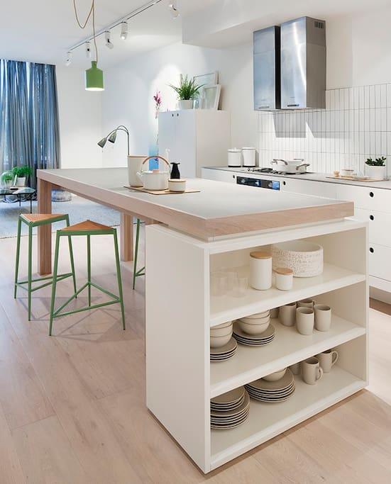 Kitchen facility available!