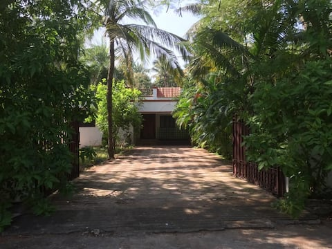 Private Beach House in a Gated Community