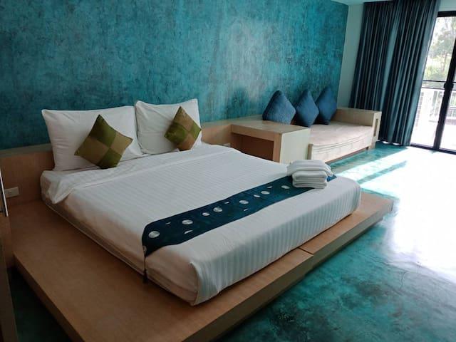 Superior 60 sq.m ( 1 bedroom) at Franjipani Resort