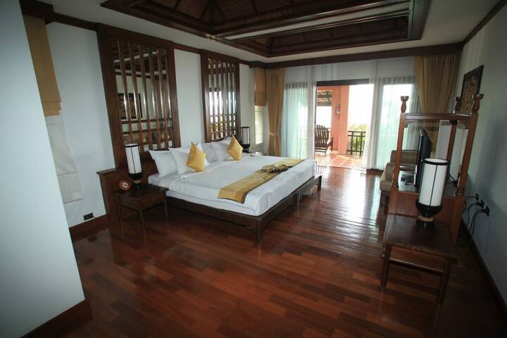 Big bedroom with private balcony in Koh Samui