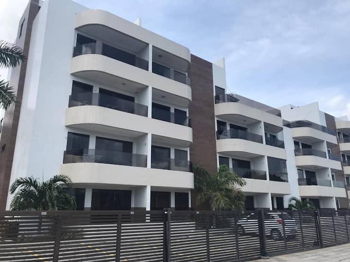 2 quartos condomínio praia de Tabatinga