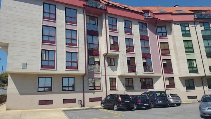 Apartamento de tres habitaciones en Ribeira