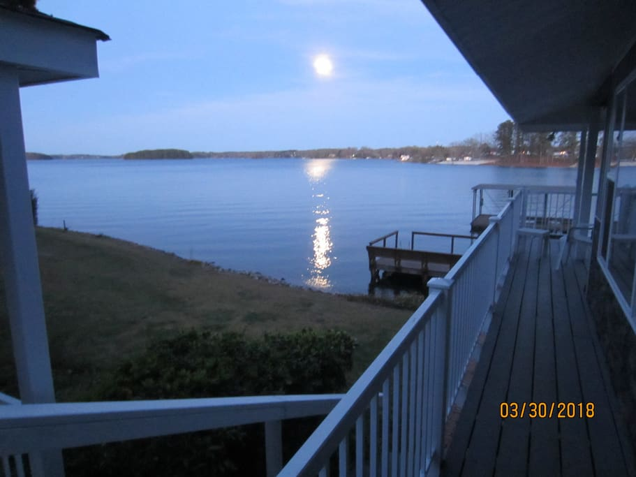 Moonlight from every deck