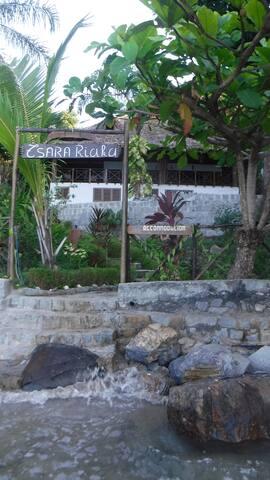 Entrance to Tsara Riaka