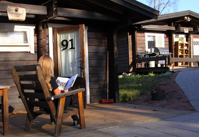 Tallhöjdens Hotell & Timmerhus - Simlångsdalen - Srub