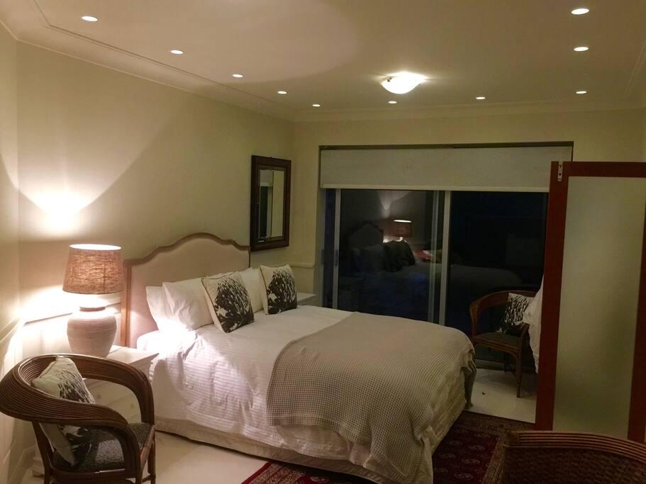Queen bedroom 2 also opens to patio