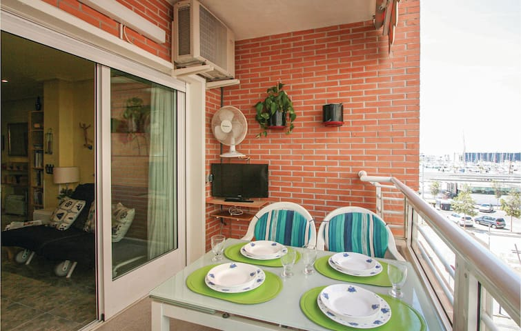 Holiday apartment with 1 bedroom on 45m² in Santa Pola