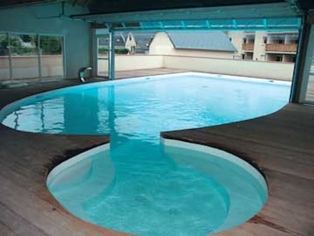 Promo T3  2 chb ,Ski , piscine chauffée,sauna