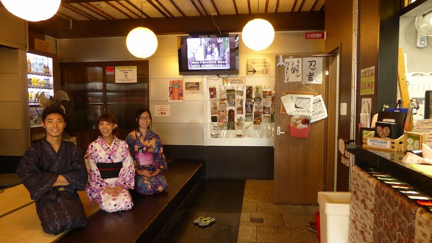 BEST KYOTO STAY FOR 2ppl/3min to STA/Twin